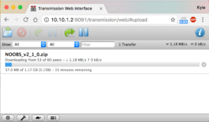 Transmission Web Client